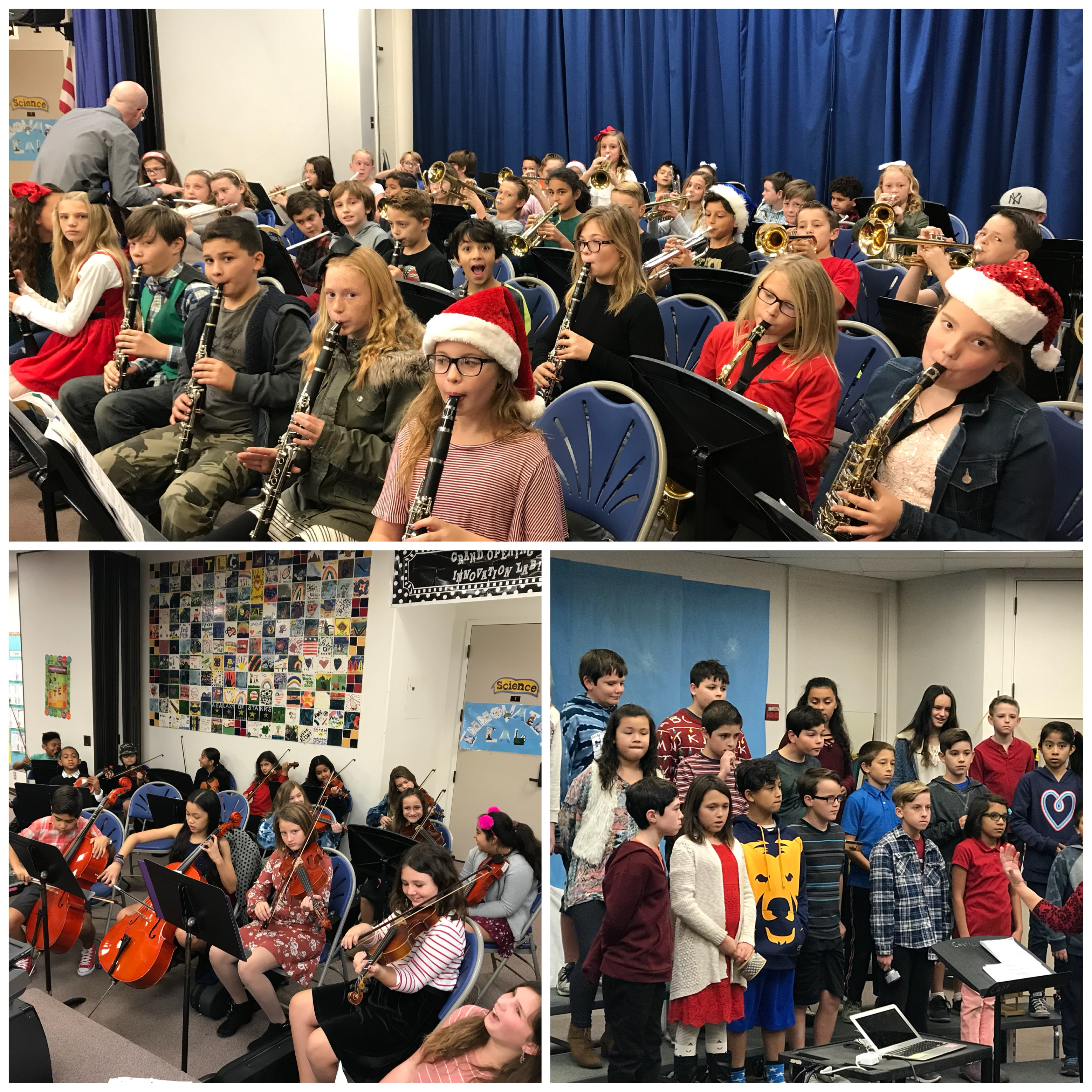 5th grade Winter Holiday Concerts